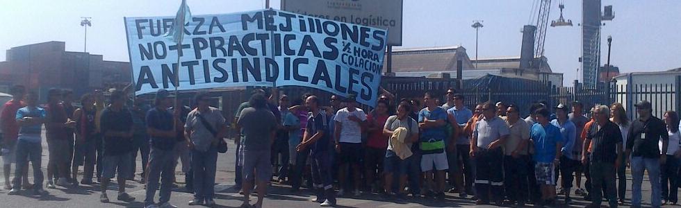 Organizacion sindical portuaria