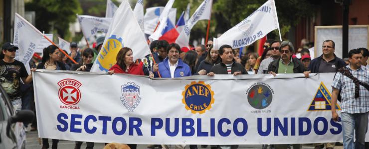 Movilizacion paralizacion sector publico